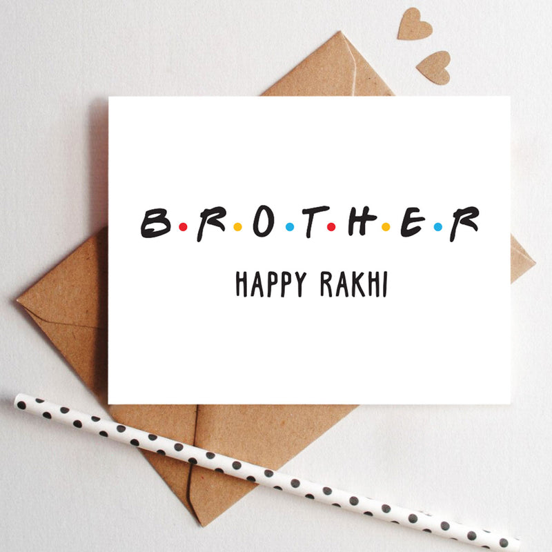 Greeting Card - Happy Rakhi Brother-STATIONERY-PropShop24.com