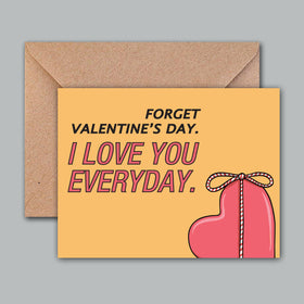 Greeting Card - Love Everyday-STATIONERY-PropShop24.com