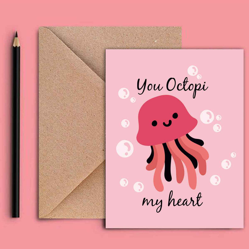 Greeting Card - Octopi-GREETING CARDS-PropShop24.com