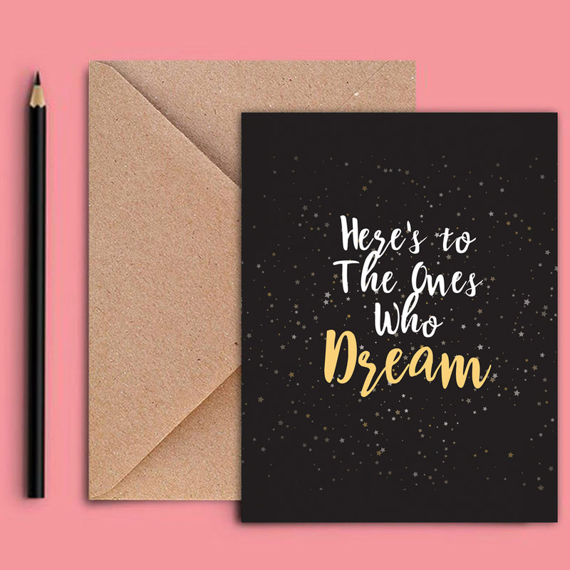 Greeting Card - One Who Dreams-GREETING CARDS-PropShop24.com