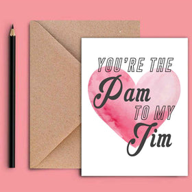 Greeting Card - Pam To My Jim-STATIONERY-PropShop24.com