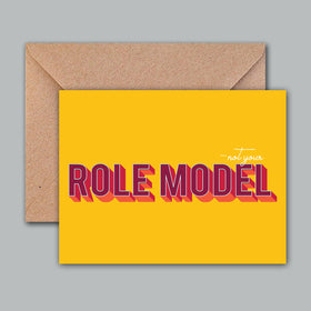 Greeting Card - Role Model-STATIONERY-PropShop24.com
