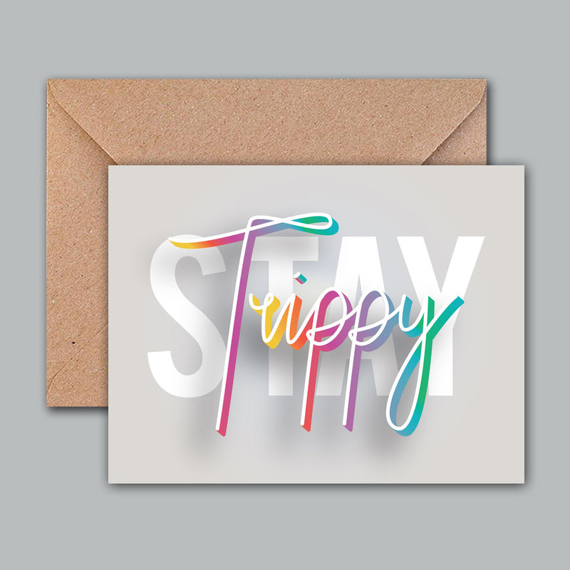 Greeting Card - Stay Trippy-GREETING CARDS-PropShop24.com