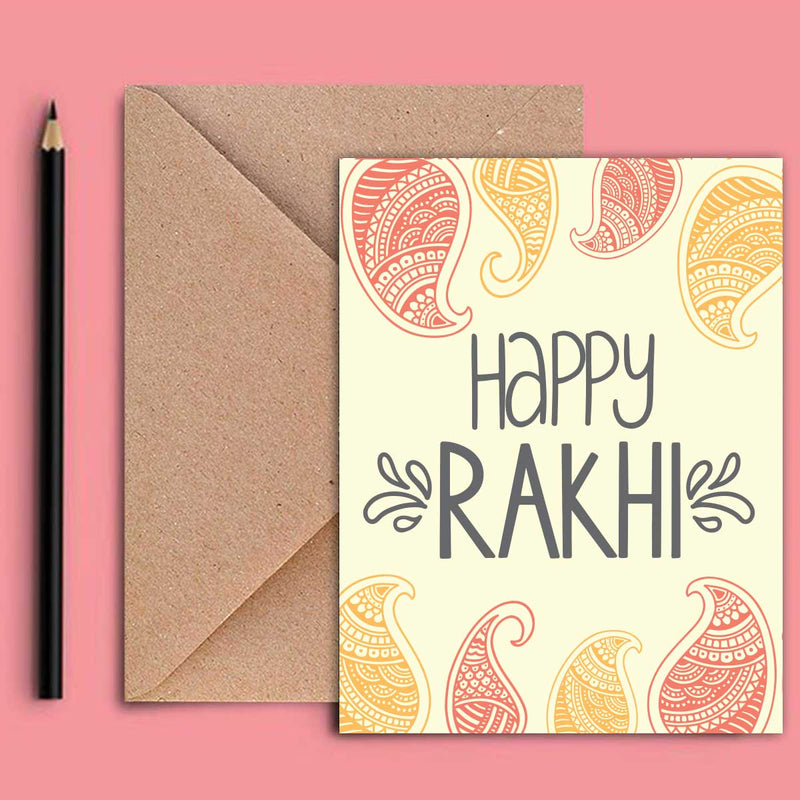 Greeting Card - Rakhi-STATIONERY-PropShop24.com