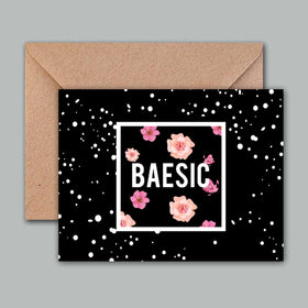 Greeting Card - Baesic Floral-Stationery-PropShop24.com