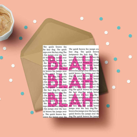 Greeting Card - Blah Blah-Stationery-PropShop24.com