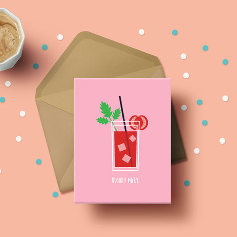 Greeting Card - Bloody Mary-STATIONERY-PropShop24.com