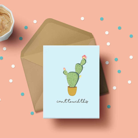 Greeting Card - Can't Touch This-Stationery-PropShop24.com