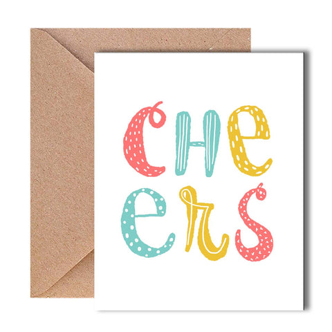 Greeting Card - Cheers-Stationery-PropShop24.com