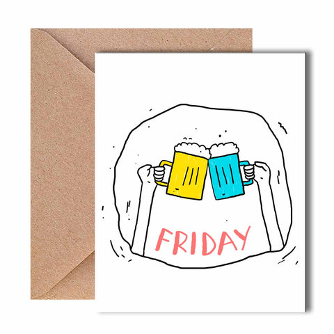 Greeting Card - Friday-Stationery-PropShop24.com