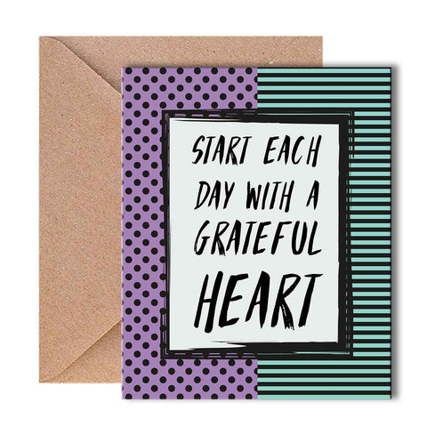 Greeting Card - Grateful Heart-Stationery-PropShop24.com