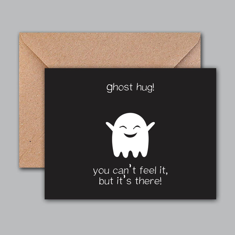 Greeting Card - Ghost Hug-GREETING CARDS-PropShop24.com