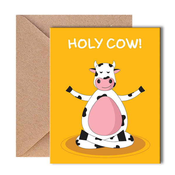 Greeting Card - Holy Cow-Stationery-PropShop24.com