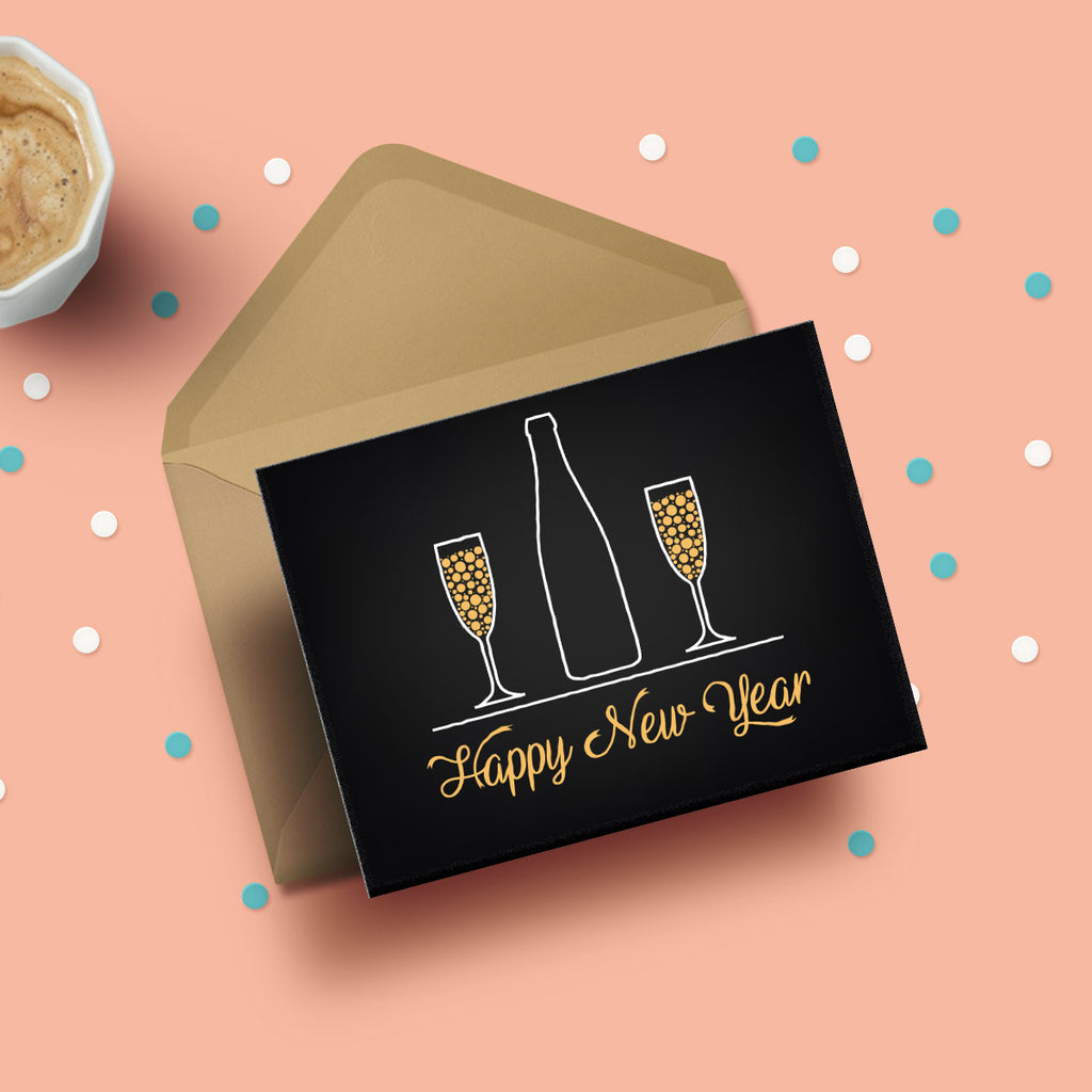 Buy Greeting Card Happy New Year Online Propshop24
