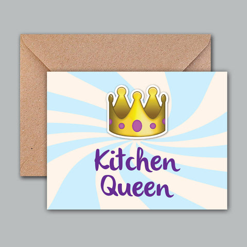 Greeting Card - Kitchen Queen-Stationery-PropShop24.com