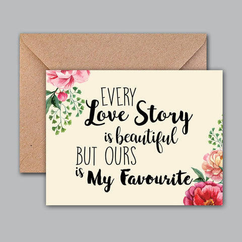 Greeting Card - Love Story-STATIONERY-PropShop24.com