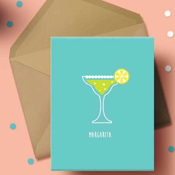 Greeeting Card - Margarita-STATIONERY-PropShop24.com