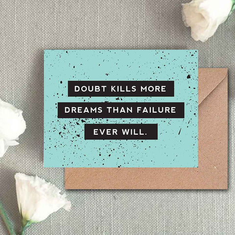 Greeting Card - No Doubt-Stationery-PropShop24.com