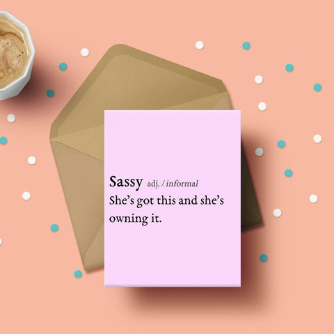 Greeting Card - Sassy-Stationery-PropShop24.com