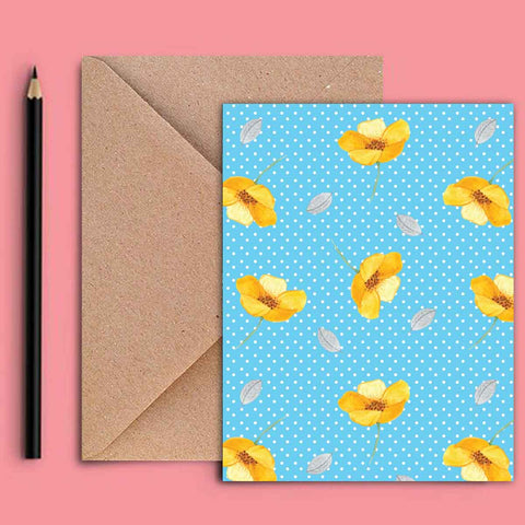Greeting Card - Summertime Floral-STATIONERY-PropShop24.com