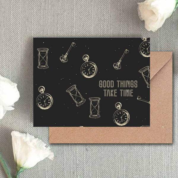 Greeting Card - Vintage Time-Stationery-PropShop24.com