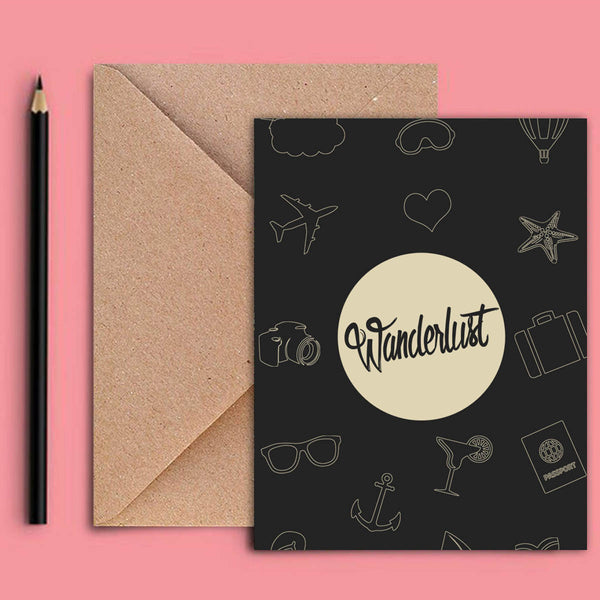 Greeting Card - Wanderlust-Stationery-PropShop24.com