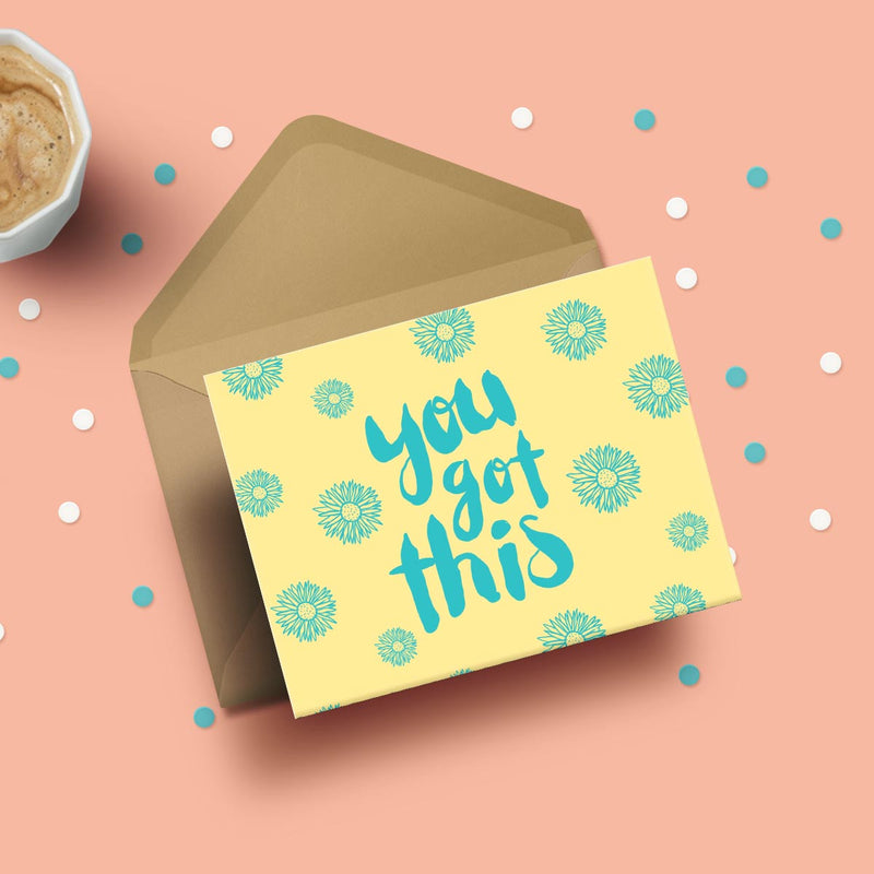 Greeting Card - You Got This-GREETING CARDS-PropShop24.com