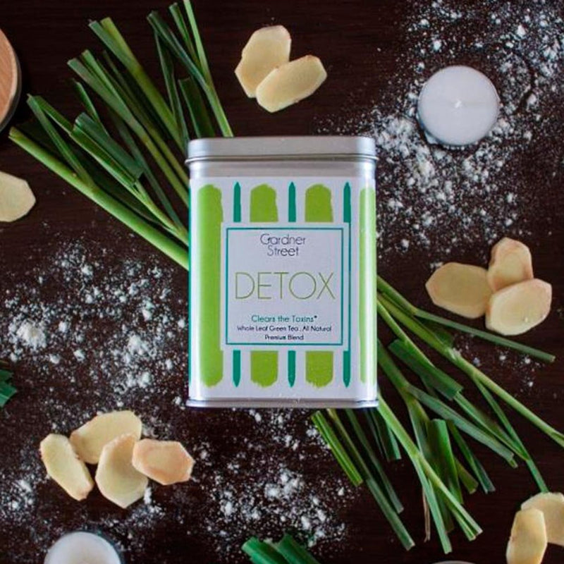 Detox - Green Tea With Lemongrass And Ginger - 20 Pyramid Teabags - Each Teabag Makes 2 Cups-DRINKS-PropShop24.com