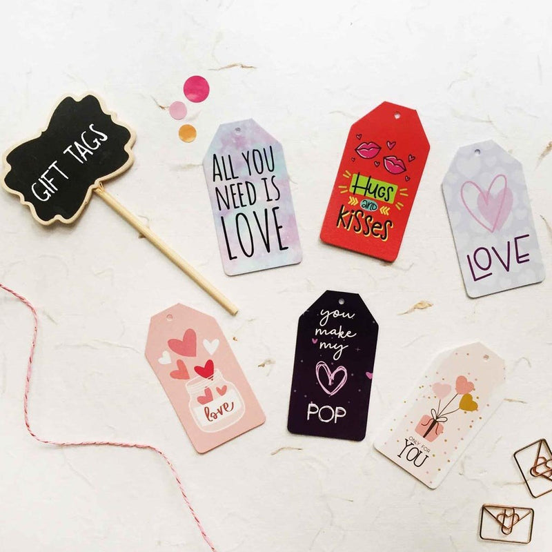 Gift Tags - Love And Kisses-GIFTING ACCESSORIES-PropShop24.com