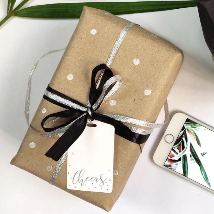 Cheers Gift Tags - Pack Of 10-GIFTING ACCESSORIES-PropShop24.com