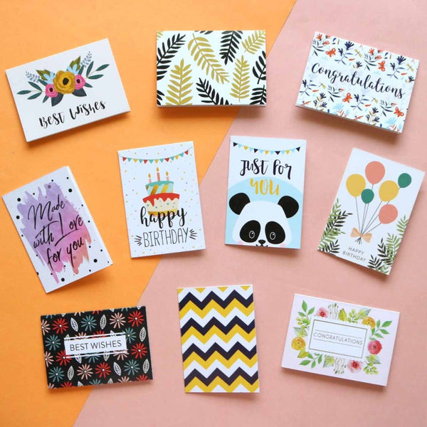 Gift Tags - multi - Set of 10-Stationery-PropShop24.com