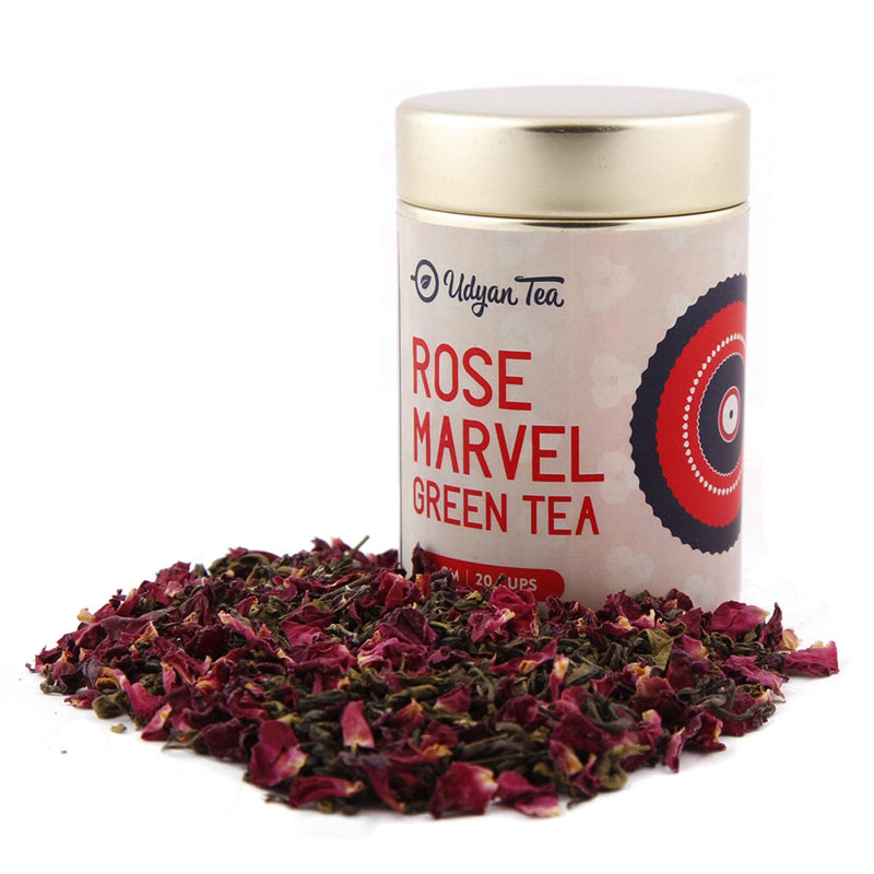 Green Tea - Rose Marvel - 50 Gm-DRINKS-PropShop24.com