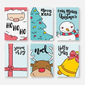 Christmas Gift Tags - Season Of Joy - Set Of 12.-GIFTING ACCESSORIES-PropShop24.com
