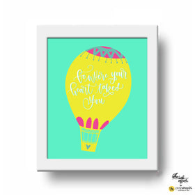 Frame - Go Where Your Heart Takes You-Home-PropShop24.com
