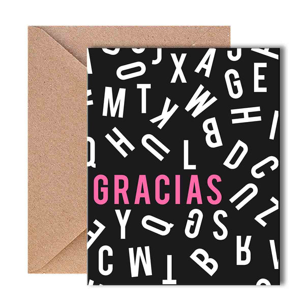 Greeting Card - Gracias-Stationery-PropShop24.com