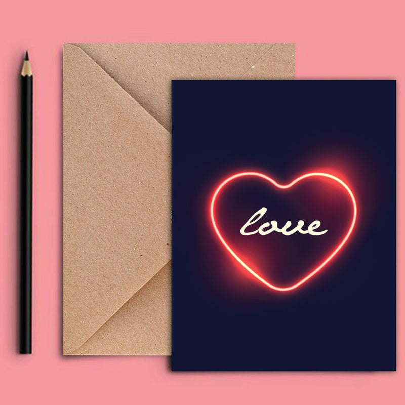 Greeting Card - Bright Love-GREETING CARDS-PropShop24.com