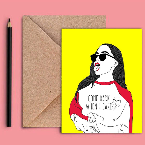 Greeting Card - When I Care-STATIONERY-PropShop24.com