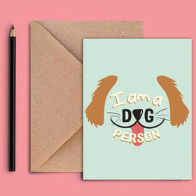 Greeting Card - Dog-STATIONERY-PropShop24.com