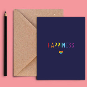 Greeting Card - Happiness Pride-STATIONERY-PropShop24.com