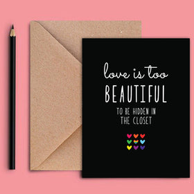 Greeting Card - Beautiful Love-STATIONERY-PropShop24.com