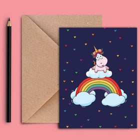 Greeting Card - Unicorn Pride-STATIONERY-PropShop24.com