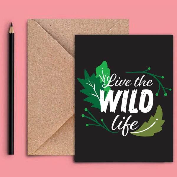 Greeting Card - Wild Life-STATIONERY-PropShop24.com