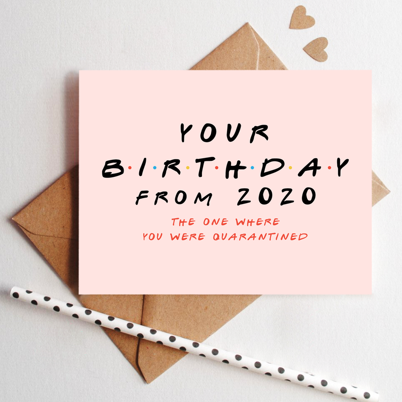 Greeting Card - Birthday From 2020-GREETING CARDS-PropShop24.com