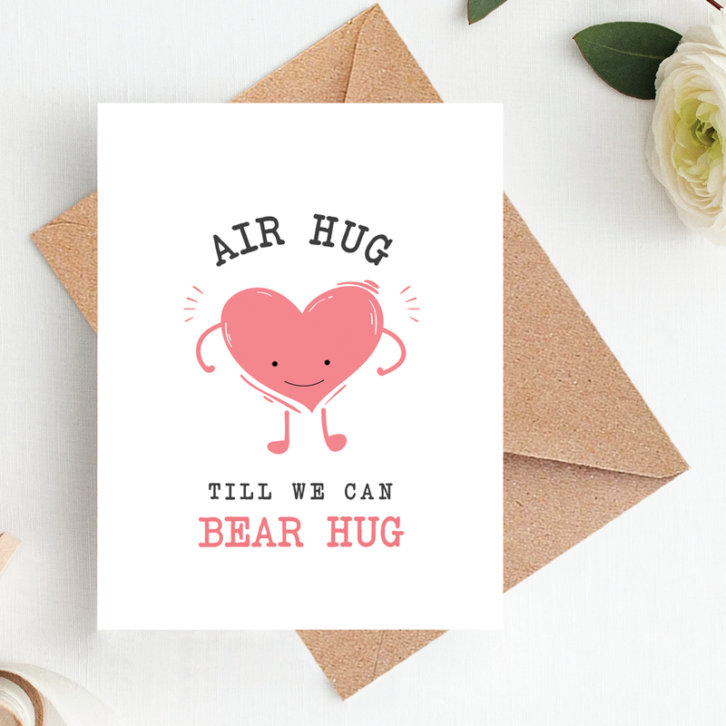 Greeting Card - Air Hug-GREETING CARDS-PropShop24.com