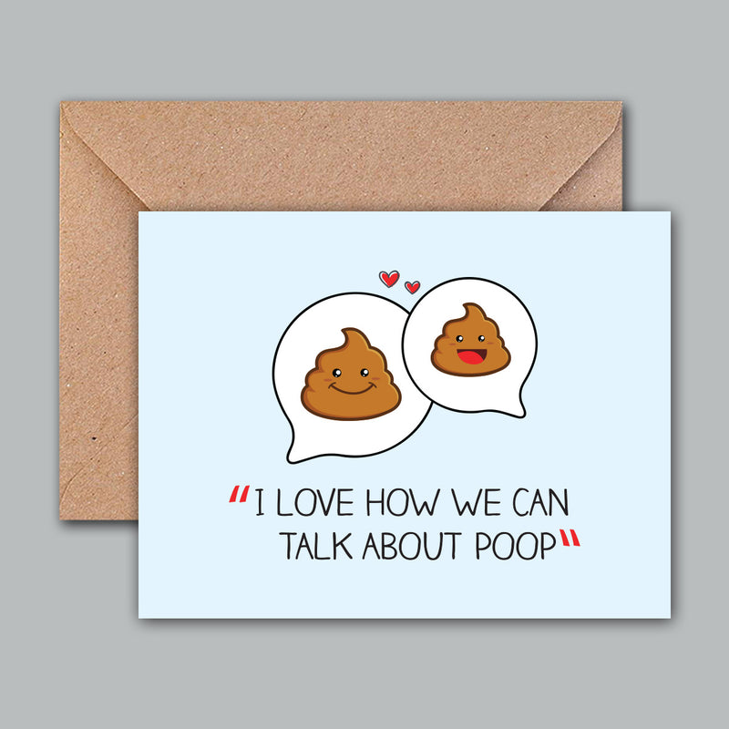 Greeting Card - Love How We Talk-GREETING CARDS-PropShop24.com