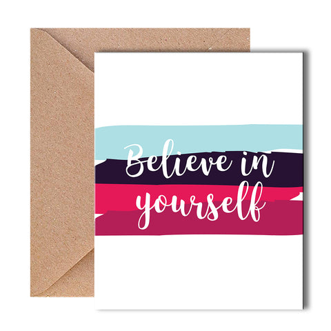 Greeting Card - Believe in Yourself-Stationery-PropShop24.com