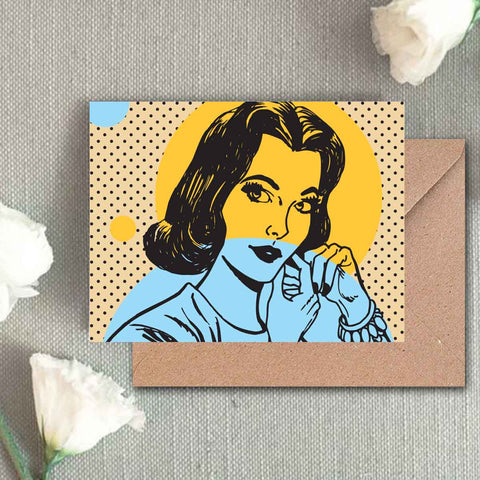 Greeting Card - Betty-STATIONERY-PropShop24.com