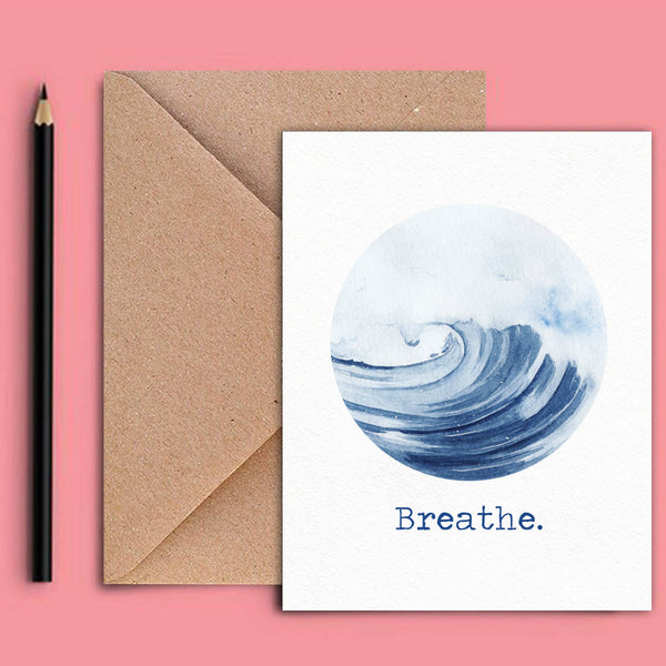 Greeting Card - Breathe-STATIONERY-PropShop24.com