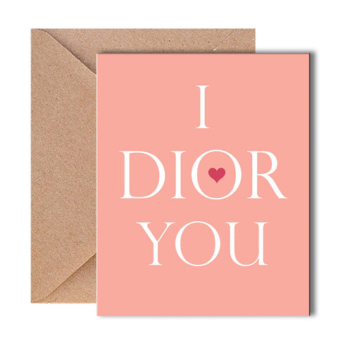Greeting Card - I Dior You-Stationery-PropShop24.com