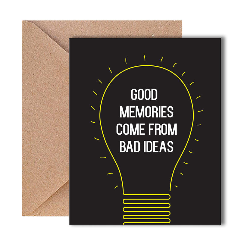 Greeting Card - Idea Memories-GREETING CARDS-PropShop24.com